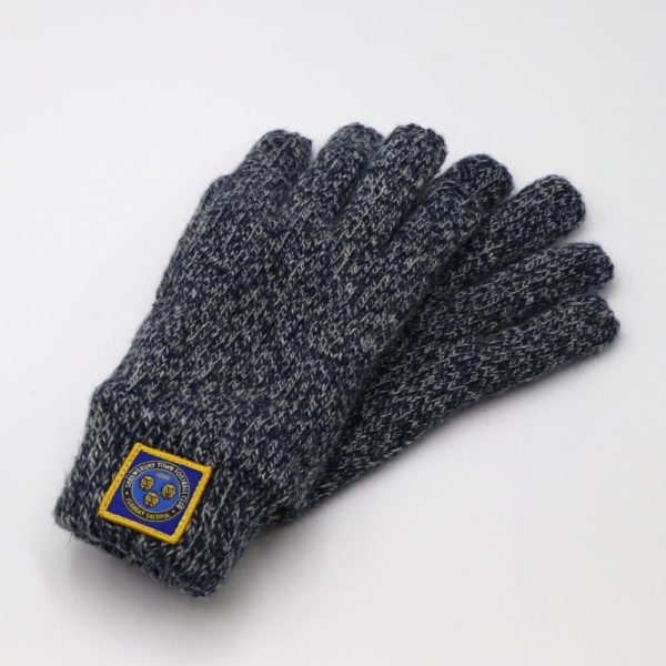 Youth Flecked Fleece Gloves