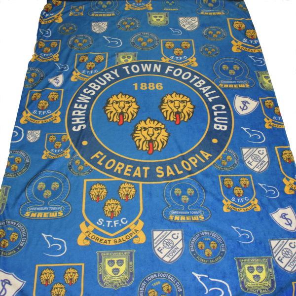 Shrewsbury Town Crested Towel