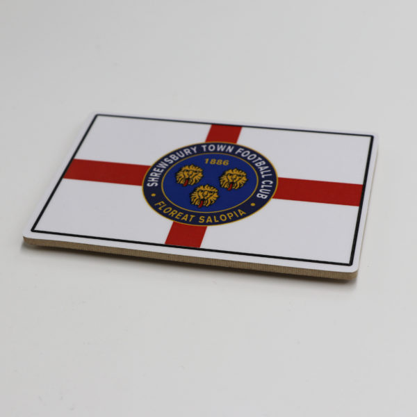 Crest with St Georges Flag Magnet