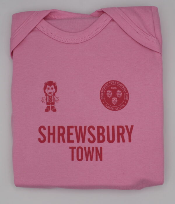 Pink Baby Vest